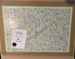 Mr Doodle - Alien Town - Signed Numbered Screen Print Ed Of 300