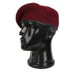 Men Mix Wool Military Costume Hat Beret Army Special Force Type Cap Fancy Dress