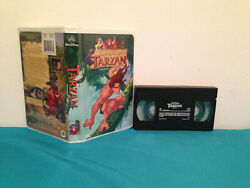Tarzan Vhs Tape And Clamshell Case French