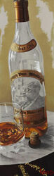 Thomas Arvid A Winkle In Timeandrdquo Whisky Art Signed And Numbered On Canvas 15x 43