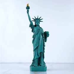 New York Statue Of Liberty Model Collectibles Travel Souvenirs Room Decoration