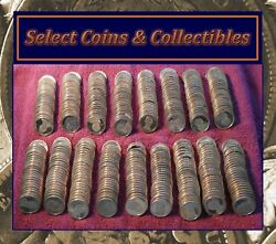 Mixed Presidential And Native American Proof Dollar Impaired Coin Rolls No-731