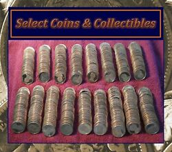 Mixed Presidential And Native American Proof Dollar Impaired Coin Roll No-731