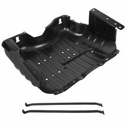 Fuel Tank Skid Plate W/ Straps For 99-04 Jeep Grand Cherokee