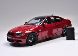 Collectibles Kyosho 118 Scale Alloy Diecast Model Bmw E92 M3 Coupe White Red
