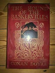 The Hound Of The Baskervilles - A Conan Doyle - 1st Edition 1902 - Newnes First