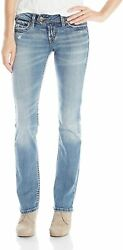 Silver Jeans Co. Womenand039s Tuesday Low-rise Slim Bootcut Jeans