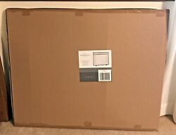Threshold Pewter Finish Fireplace Screen New