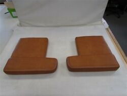 Scout 420 Lxf Aft Counter Pair 2 Seat Cushion 46250-15 / 46199-15 Brown Boat