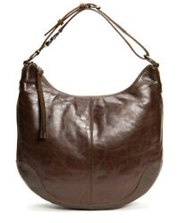 Frye Melissa Scooped Leather Hobo Women#x27;s $174.99