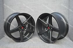 Alloy Wheels 19 Ex18 For Volkswagen Transporter Mk3 Mk4 Caravelle Van 5x112 Gm