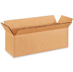 100 12x4x4 Cardboard Paper Boxes Mailing Packing Shipping Box Corrugated Carton