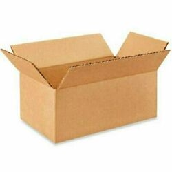100 8x4x2 Cardboard Paper Boxes Mailing Packing Shipping Box Corrugated Carton