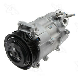 A/c Compressor And Clutch- New Four Seasons 168389