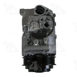 A/c Compressor And Clutch- New Four Seasons 168328