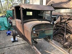 1928 1929 Model A Ford Pickup Truck Cab Body Cowl Door Firewall 28 29 Hot Rod 1