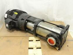 186514 Old-stock Grundfos A96523675p116360001 Water Pump W/motor 208-230/460vac