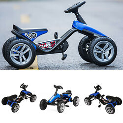 Kids Go Kart Ride-on Toys Pedal Car Outdoor Cycling Racing Bike 4 Wheels Racer