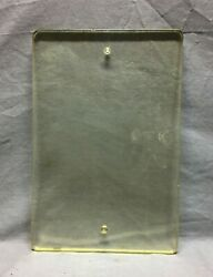 1 Thick Vtg Bank Writing Pad Flower Press Office Glass 10 X 15 Old 42-21b