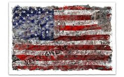 Mr Brainwash Mbw Freedom Signed Usa Guetta Limited Edition Independence Day