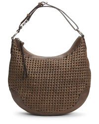 Frye Melissa Woven Scooped Leather Hobo Women#x27;s $149.99