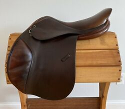 """Tad Coffin A5g 17-17.5"""" 75 Close Contact/ Jumping Saddle"""