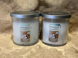Yankee Candle COCONUT BEACH SMALL TUMBLER CANDLE SET 7oz Each $24.25