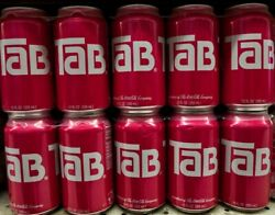 New Lot Of Six 12 Packs Tab Soda Pop 72 Cans Total Exp 5/2021 Sealed Rare