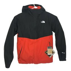 The Mountain Light Tri Gore Tex Insulated Hooded Jacket Red Black Men