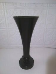 Sweet Mulberry Red Candle 3quot;x4quot; AND CandleStick Pier 1 Imports Black 11quot; x 5