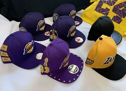 Kobe Bryant Lakers Championship Retire Caps/ Hats Collection,vhtfmamba Out
