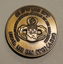 519th Military Intelligence Battalion Airborne Bronze Bosnia Army Challenge Coin