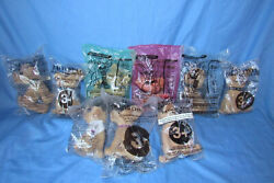 New Taco Bell Chihuahua 6 Inch Plush Talking Dog Sealed Lot Of 9 All Different