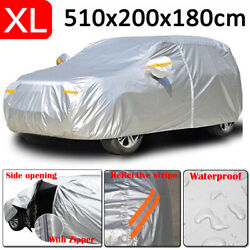 Xl Car Cover Waterproof Sun Uv Snow Protection Outdoor For Ford Explorer Galaxy