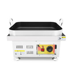 Vfn Stainless Steel Teppanyaki Maker Commercial Sauted Rice Cake Machine 110v