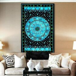 Tie Dye Hippie Tapestry Mandala Wall Hanging Bedding Tapestry Multi Color