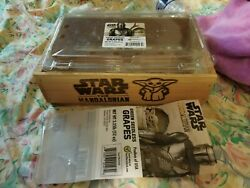 Complete Star Wars Mandalorian Baby Yoda Limited Edition Wooden Grape Crate