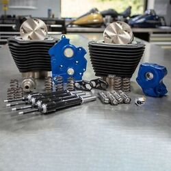 Sands M8 Power Package 124 Oil Cooled Chain Drive Black Fins Black Tubes 17-up