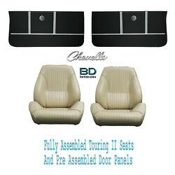 1964 Chevelle And El Camino Touring Ii Bucket Seats And Door Panel Pre Assembled