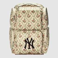 Nwt X Ny Yankees Floral Tapestry Satin Large Backpack 2390.00 Sold Out