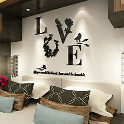 3D Quote Removable Decal Vinyl Art Stickers Wall Decors Mural Home Bedroom Room