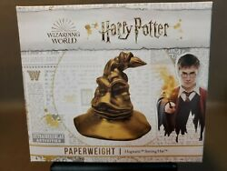 Rare Wizarding World Limited Edition Sorting Hat Paperweight Rare Harry Potter