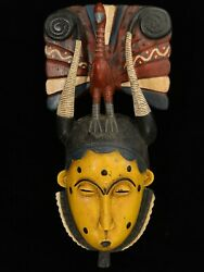 African Masks - Sawa Mask 3 From The Sawa People Of Cameroon