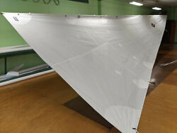 New Catalina 34 And 36 Mainsails 2 Reefsets Full Length Battens 39and039 Luff 12and039 Foot