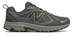 New Balance Men#x27;s 410v5 Trail Shoes Grey with Black