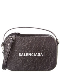 Balenciaga Everyday Xs Metallic Leather Crossbody Women#x27;s $799.99