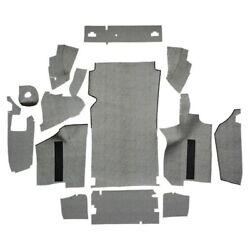 Trunk Mat For 1964 Ford Thunderbird Convertible With Boards Burtex