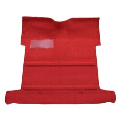 Floor Carpet For 1955-58 Chevy Truck Reg Cab High Tunnel Molded 1pc