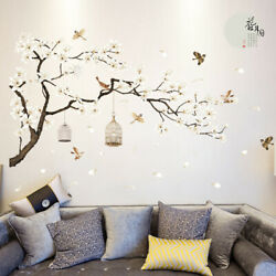 3D DIY Removable Flower Tree Home Room Decal Vinyl Art Stickers Wall Decor New