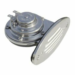 Schmitt And Ongaro Mini Ss Single Drop-in Horn W/ss Grill 12v Low Pitch 10050